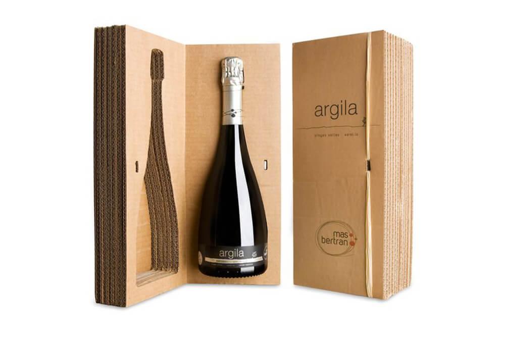 Packaging bottiglie di vino